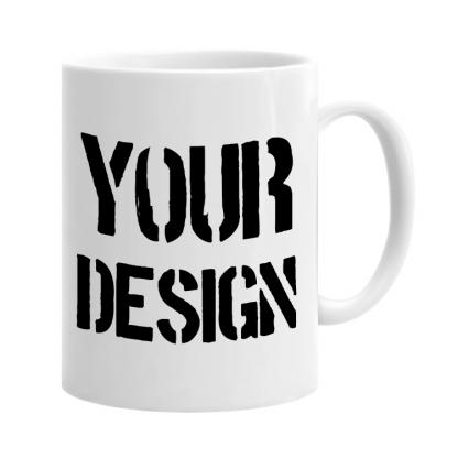 White Custom Printed Mug