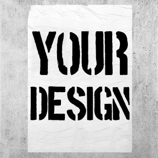 Custom Printed A4 A3 poster