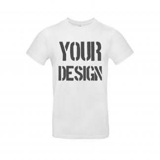 Full T Shirt Print White