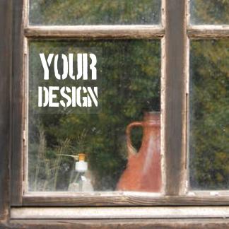 Custom Printed Window Sticker