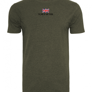 A to Z Carp Fishing T Shirt Front Mockup